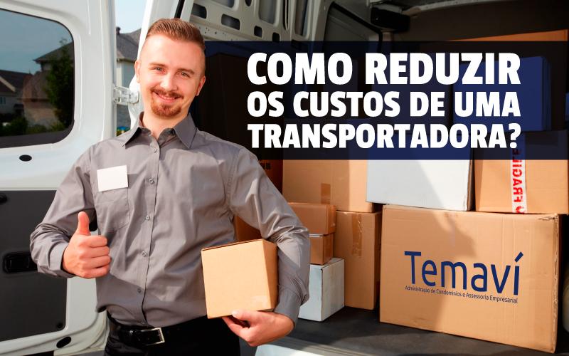 Reduzir Custos De Uma Transportadora