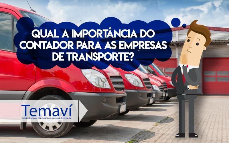 Qual A Importância Do Contador Para As Empresas De Transporte?