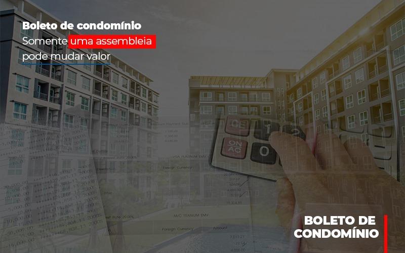 Boleto De Condominio